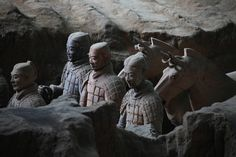 Underground Warriors by Jacky CW on 500px.  The Terracotta Warriors and Horses is located in in Lintong, Shaanxi Province. It is a sight not to be missed by any visitor to China.