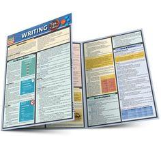 QuickStudy Writing: Tips & Tricks Laminated Study Guide Learning Process, Writing Process, Writing Skills, Writing Tips, Research Writing, Academic Writing, Essay Writing, English Writing, Essay Outline Sample