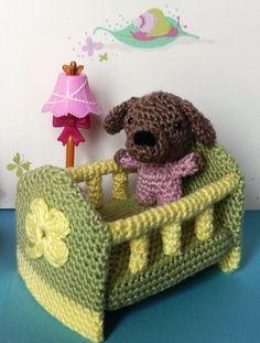 Amigurumi babies & crib - FREE Crochet Pattern / Tutorial