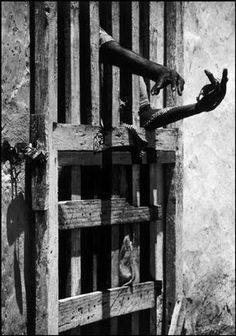 W Eugene Smith - Patient in a mental hospital. Outskirts of Port-au-Prince. Haiti, 1958. @designerwallace