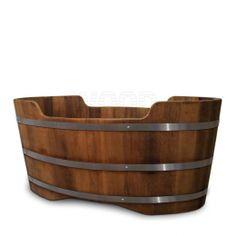 Iroko Wooden Bathtub