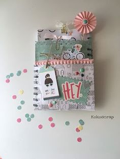 Flipbook o Loaded bag. Cool Paper Crafts, Scrapbook Paper Crafts, Snail Mail Flipbook, Pochette Surprise, Snail Mail Pen Pals, Card Envelopes, Pocket Envelopes, Photo Album Scrapbooking, Pretty Packaging