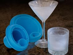 Your cosmo will always be cold now. Forget frosted--the IceLiners Kickstarter project wants to ice the inside of your glass http://cnet.co/XX4Jpz