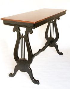 Lyre Sofa Table $45