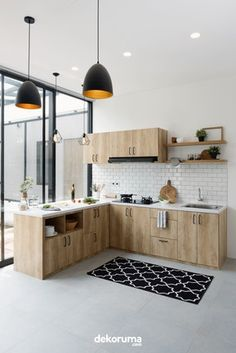 "The size is perfect. I want this letter ""L"" but in reverse. Simple Kitchen Design, Kitchen Room Design, Kitchen Cabinet Design, Kitchen Sets, Home Decor Kitchen, Rustic Kitchen, Interior Design Kitchen, Home Kitchens, Modern Kitchen Interiors"