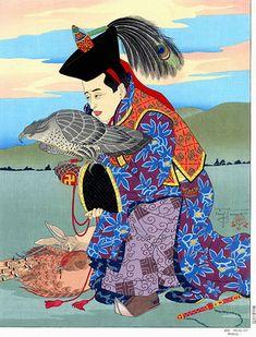Jeu Princier. Mongol - Paul Jacoulet