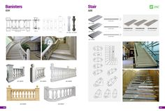 Product Catalogue, Banisters, Black Granite, Quartz Countertops, Building Materials, White Marble, Stairs, Furniture, Home Decor
