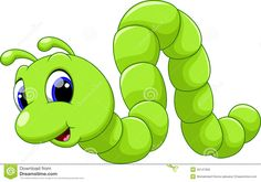 Cute Caterpillar Cartoon Stock Illustration - Image: 45147059