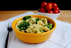 Love fettuccine alfredo, but not the calories? Skinny Chicken and Broccoli Alfredo is for you. Thick and decadent, but much lighter than the original! The near constant dreariness 'round these parts is making me regress slightly and crave comfort foods, like the Skinny Chicken & Broccoli Alfredo I made for dinner tonight....