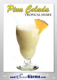 1 cup skim milk, soy, almond or rice milk 2 heaping scoops of Vi-Shape Shake Mix cup of crushed ice cup of pineapple 2 teaspoons pinapple jello mix 2 teaspoons white chocolate pudding mix 1 tsp coconut flavoring tsp vanilla Protein Shake Recipes, Protein Shakes, Smoothie Recipes, Smoothies, Yummy Drinks, Healthy Drinks, Healthy Recipes, Healthy Foods, Visalus Shake