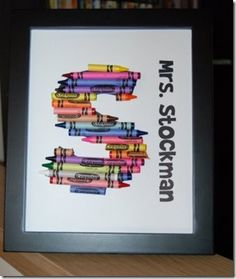 Nap Time Crafts- Teacher gifts- featured on Today's Creative Blog 2009