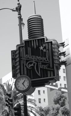 We actually lived on the corner of Hollywood and Vine 1976