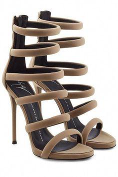 c1247c047a2ce GIUSEPPE ZANOTTI Strappy High Heels. #giuseppezanotti #shoes #  #Hothighheels #GiuseppezanottiHeels