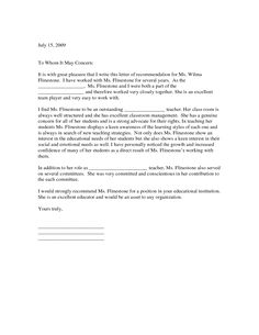 Employment Letter Of Recommendation Template Unique Sle Application Letter For Any Position Available  News To Gow .