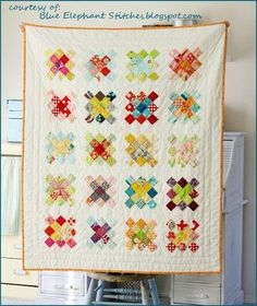 Uh oh...Granny Squares quilt-along.