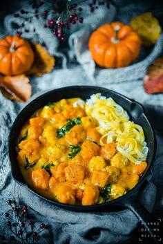 pieprz czy wanilia fotografia i kulinaria: Jej Pomarańczowość Dynia! Squash, Sweet Potato, Curry, Potatoes, Pumpkin, Dinner, Cooking, Ethnic Recipes, Fit