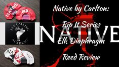 Native by Carlton Rip It Series Elk Call Diaphragm Reed Review