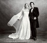 Lauren Bush Lauren's wedding dress is perfection. Check out the 3rd photo.