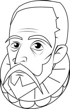 MONOGRÁFICO | Actividades y recursos materiales para el Día del Libro ~ La Eduteca Man Of La Mancha, Dom Quixote, Ex Libris, Conte, Kids Education, Famous People, Coloring Pages, Graffiti, Street Art
