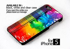 AJ 389 color dripping - iPhone 5  Case | FixCenter - Accessories on ArtFire