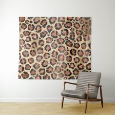 Modern Black Gold Cheetah Leopard Animal Print Tapestry | Zazzle.com White Leopard, Leopard Animal, Leopard Birthday Parties, Cheetah Party, Black Gold, Black And Brown, White Chic, Rose Gold Foil, Wall Tapestry
