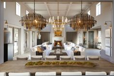 From chandeliers to table lamps and beyond, discover the top 50 best living room lighting ideas. Explore interior light fixtures from modern to rustic. Aspen, Restauration Hardware, Restoration Hardware Catalog, Restoration Hardware Living Room, Diy Esstisch, Palaces, Modul Sofa, Contract Furniture, White Rooms
