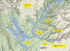 lake powell map | For the most detailed maps of | Not all who wander ...
