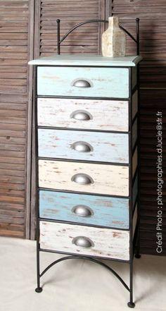 Satinelles Vintage Tourterelles Ostende- Pierre- Bleu Gustavien- Craie Meubles Peints Style Funky, Deco Marine, Decoration, Chalk Painting, Diy, Inspiration, Furniture, Cottage, Home Decor