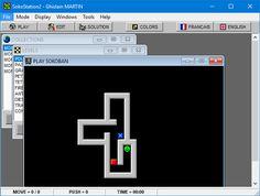 SokoStation 2 - SOKOBAN Playstation 2, English, France, Desktop Screenshot, Letters, Letter, English Language, Lettering, Calligraphy