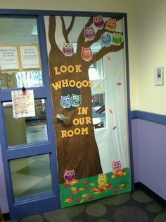 Our door thanks to a great co-teacher.... Welcoming new toddlers to our room!