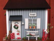 Briefkasten aus Holz, skandinavisch, Bestellart.
