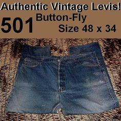 Lot 4 pair Vintage Levi Levi's 501 Jeans Denim by OneLovePlanet, $49.99