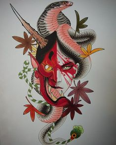 - - - – – You are in the right place about Body Suit casual Here we offer you the most beautiful pictures about the Body Suit kids you are lo Dragon Tattoo Back Piece, Dragon Sleeve Tattoos, Skull Tattoos, Tribal Tattoos, Arabic Tattoos, Japanese Dragon Tattoos, Japanese Tattoo Art, Hannya Maske, Hannya Tattoo