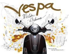 Premium Vespa calendar 2012. by Creative Bay , via Behance