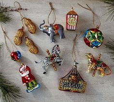 circus christmas baubles - Google Search