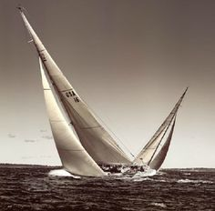 Crossing Tack Classic Yachts Ocean Race Cross Tack Sailboats Ocean Race 1895 Yacht Iverna at Full Sail Sailboat Rainbow's Finish 1934 Vintage Maritime 1937 Ranger Racing Beached Boat Classic Sailing, Classic Yachts, Used Sailboats, Sailboat Racing, Boating Holidays, Free Boat Plans, Buy A Boat, America's Cup, Small Boats