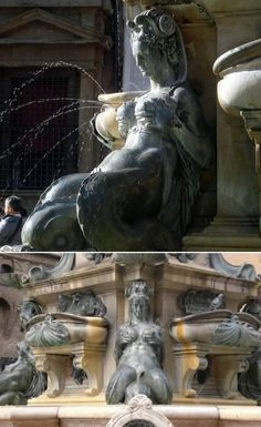 Good grief. This astounding piece of art is in the Piazza Nettuno, Bologna, Italy. Culture, really?