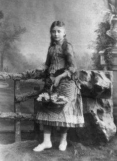 Colette as a child.