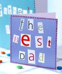 Create a handmade Fathers Day card using dads activities which are generally about a lot more than fishing and eating steak. Homemade Fathers Day Card, Fathers Day Art, Fathers Day Crafts, Homemade Gifts, Homemade Cards, Diy Father's Day Cards, Mother's Day Activities, Holiday Activities, Daddy Day