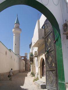 Doorway to the past, Old Tripoli, Libya.
