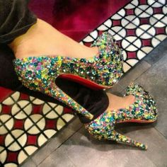 Candy red bottoms