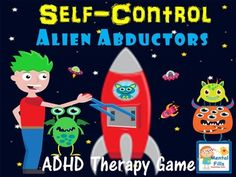 ADHD therapy game for groups and individual counseling addressing coping and social skills. Adhd Activities, Counseling Activities, Group Counseling, Counseling Worksheets, Space Activities, Therapy Games, Therapy Activities, Play Therapy, Therapy Ideas