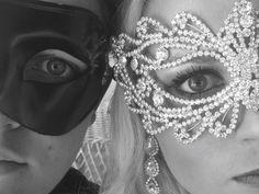 Prom picture  masquerade