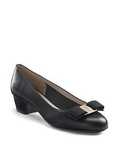 Salvatore Ferragamo Vara Pumps - Nero-Black - Size