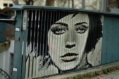 Zebrating is known for their incredible anamorphic murals painted on outdoor railings.