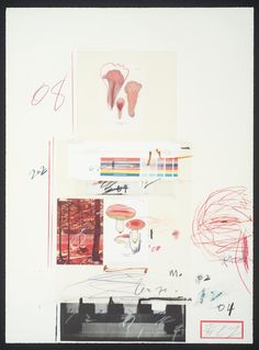 Cy Twombly 'No. V', 1974 © Cy Twombly Foundation