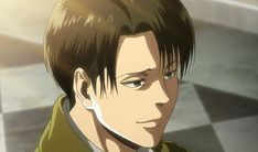 Levi looks more handsome when he smiles! Levi Ackerman, Armin, Mikasa, Attack On Titan Season, Attack On Titan Levi, Levi Smiling, Smile Wallpaper, Fanart, Aot Characters