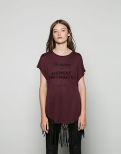 T- Shirts - WOMAN - Woman - Bershka United Kingdom