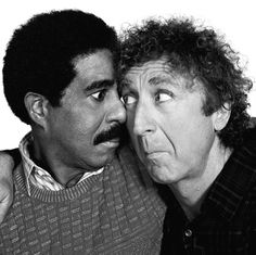 Richard Pryor and Gene Wilder. Brilliance.