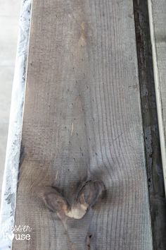 """Turn new wood into aged barn wood - The Most Natural, Inexpensive Way to """"Stain"""" Wood - Bless'er House"""